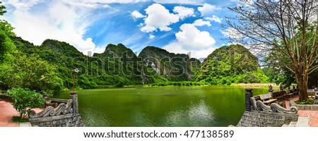 Landscape of Trang An - Ninh Binh