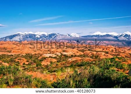 Landscape of Utah state. USA - stock photo