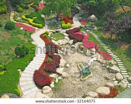 Building Botanical Garden Dalian China Stock Photo 32110780