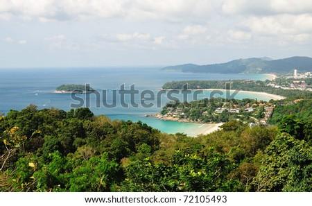 Landscape Phuket sea Thailand - stock photo