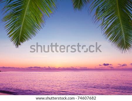 Landscape Skyline Exotic - stock photo