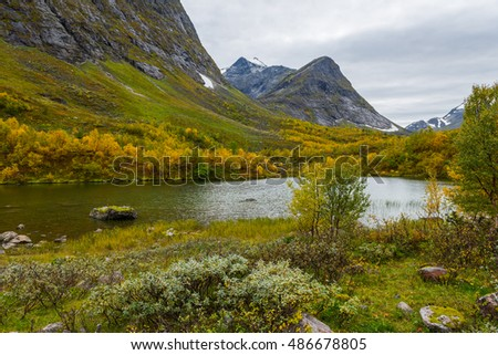 Landscape, Sunnmore Alps - Norway