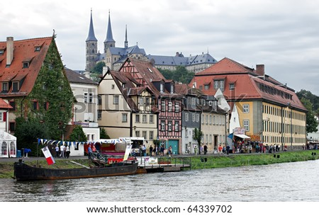 Landscape view in Bamberg, Germany - stock photo