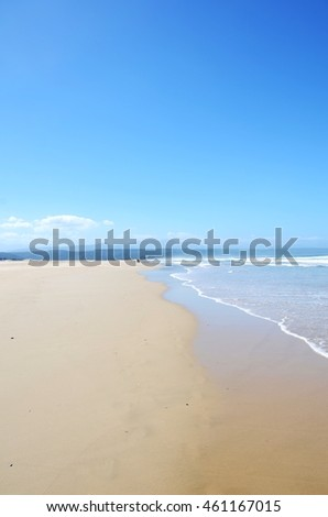 Landscape. Water. Beach