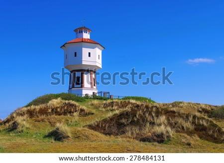 Langeoog water tower  - stock photo