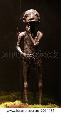 """Langsuir at """"Exhibition on Mysterious, Genie, Ghost, Coffin & ....."""" - stock photo"""