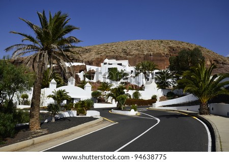 Lanzarote, Canary Island, LagOmar Building - former home of actor Omar Sharif