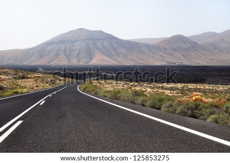 Lanzarote. One of the Canary Islands.