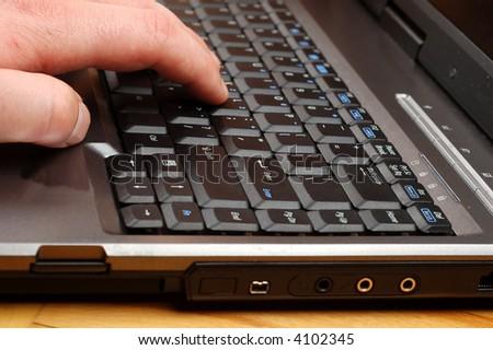 laptop #7 - stock photo