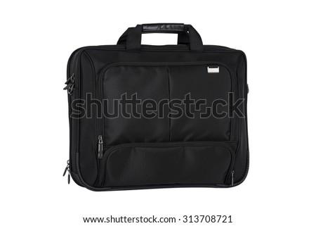 Laptop Bag isolated on white background - stock photo