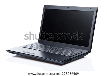 Laptop, Computer, PC. - stock photo