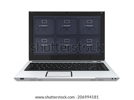 Laptop Data Storage