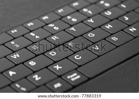 Laptop keyboard - stock photo