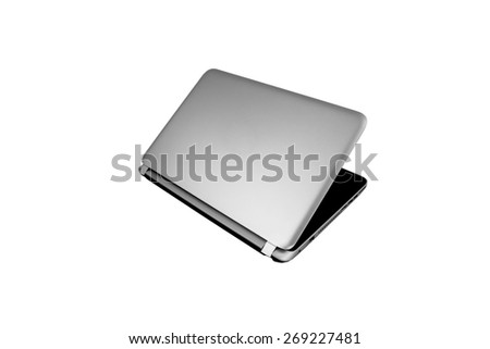 Laptop mouse Isolated on white background