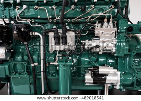 Large car engine