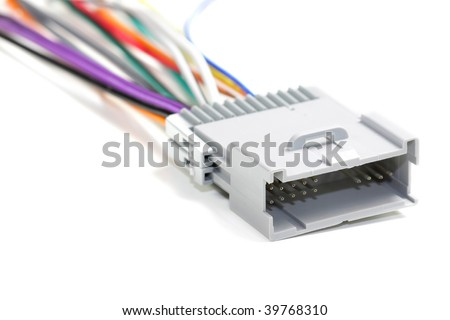 Large connector - stock photo