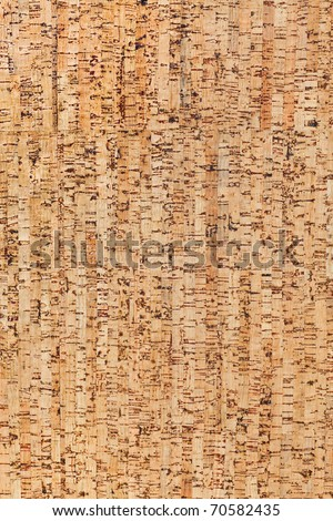 Large corkboard texture or background - stock photo