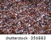 large crowd texture - stock photo
