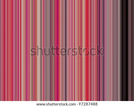 large 3d render of shaded tubes in different pink colors - stock photo