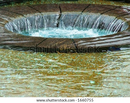 Large Drain - stock photo