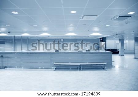 large hall - stock photo