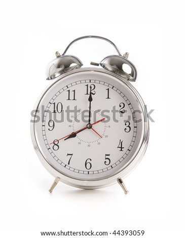 Large over sized classic alarm clock bell ringer