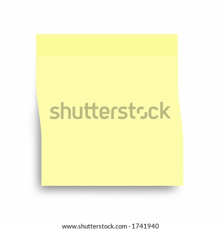 Large Post It Note