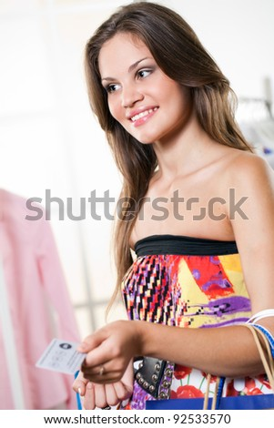 large selection of beautiful clothes