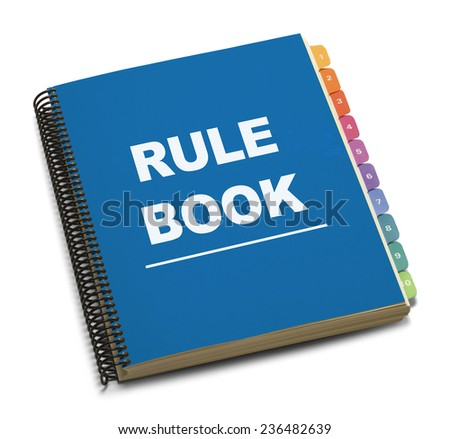 Manual book stock photos images pictures shutterstock for Office design rules of thumb