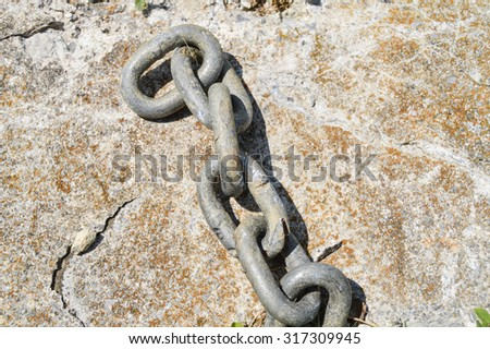 Large Steel Chain