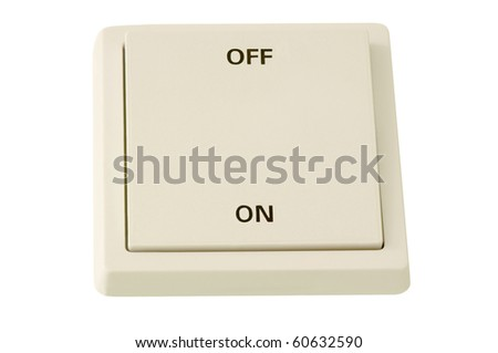 Large Switch - stock photo