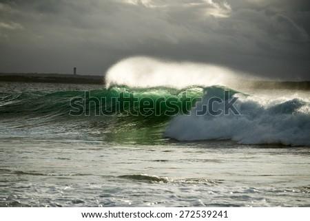Large Wave - stock photo