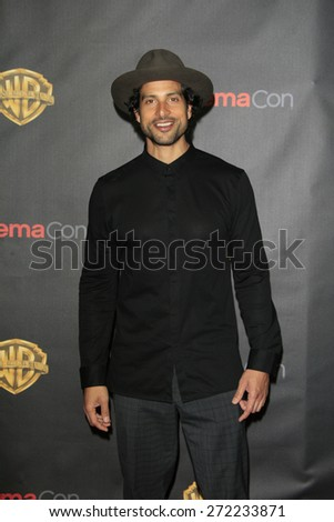 LAS VEGAS - APR 21: Adam Rodriguez at the Warner Bros. Pictures Exclusive Presentation Highlighting the Summer of 2015 and Beyond at Caesars Pallace on April 21, 2015 in Las Vegas, NV - stock photo