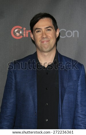 LAS VEGAS - APR 21: Brad Peyton at the Warner Bros. Pictures Exclusive Presentation Highlighting the Summer of 2015 and Beyond at Caesars Pallace on April 21, 2015 in Las Vegas, NV - stock photo