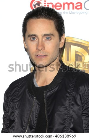 LAS VEGAS - APR 12: Jared Leto at the Warner Bros. Pictures Presentation during CinemaCon at Caesars Palace on April 12, 2016 in Las Vegas, Nevada - stock photo