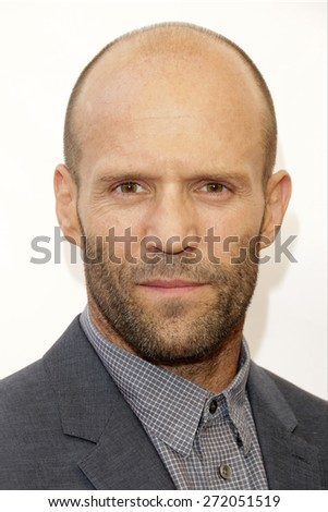 LAS VEGAS - APR 23: Jason Statham at the Twentieth Century Fox 2015 Presentation at Cinemacon at Caesars Palace on April 23, 2015 in Las Vegas, NV - stock photo