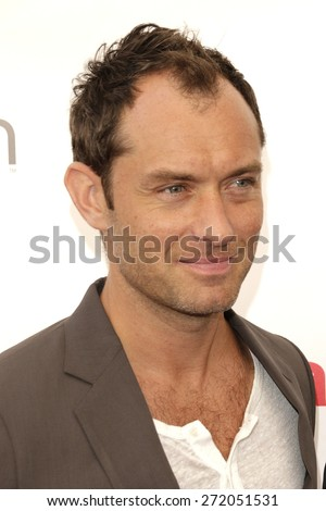LAS VEGAS - APR 23: Jude Law at the Twentieth Century Fox 2015 Presentation at Cinemacon at Caesars Palace on April 23, 2015 in Las Vegas, NV - stock photo