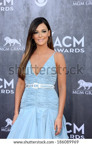 LAS VEGAS - APR 6:  Kacey Musgraves at the 2014 Academy of Country Music Awards - Arrivals at MGM Grand Garden Arena on April 6, 2014 in Las Vegas, NV - stock photo