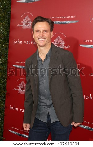 LAS VEGAS - APR 17:  Tony Goldwyn at the John Varvatos 13th Annual Stuart House Benefit at the John Varvatos Store on April 17, 2016 in West Hollywood, CA - stock photo