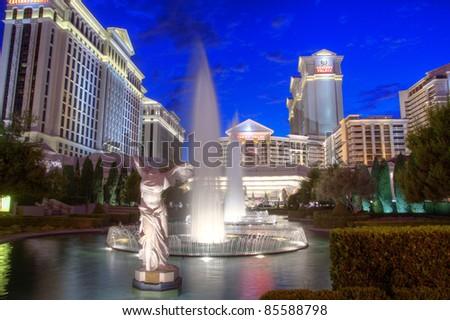 caesars casino hosts las vegas