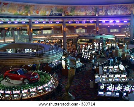 las vegas hotel casino - stock photo
