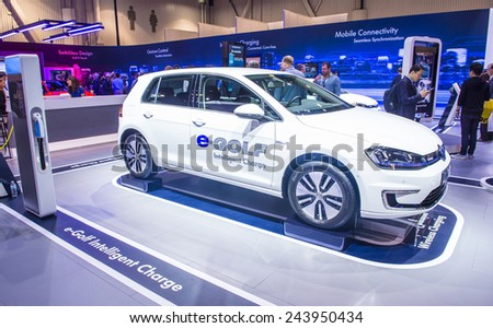 Las Vegas Jan Volkswagen Egolf Stock Photo Shutterstock - Vw car show las vegas