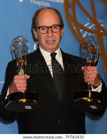 LAS VEGAS - JUNE 19:  Harry Friedman in the Press Room of the  38th Daytime Emmy Awards at Hilton Hotel & Casino on June 19, 2010 in Las Vegas, NV.