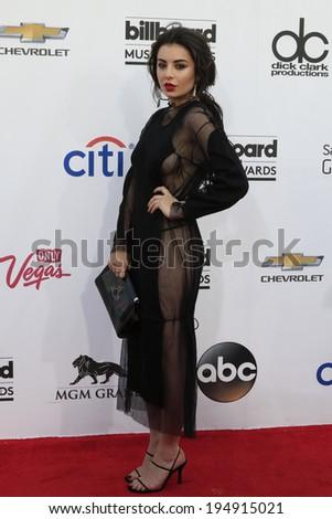 LAS VEGAS - MAY 18:  Charli XCX at the 2014 Billboard Awards at MGM Grand Garden Arena on May 18, 2014 in Las Vegas, NV - stock photo