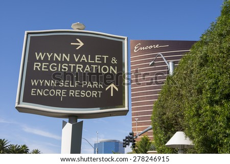 LAS VEGAS - MAY 12, 2015 - Encore and Wynn hold more Forbes five-star awards than any other casino-resort in the world.