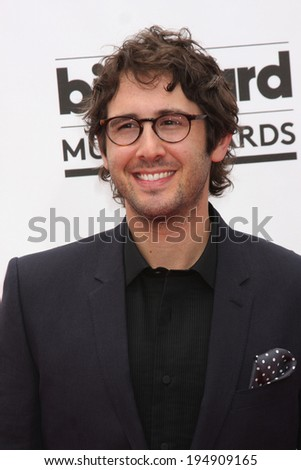 LAS VEGAS - MAY 18:  Josh Groban at the 2014 Billboard Awards at MGM Grand Garden Arena on May 18, 2014 in Las Vegas, NV