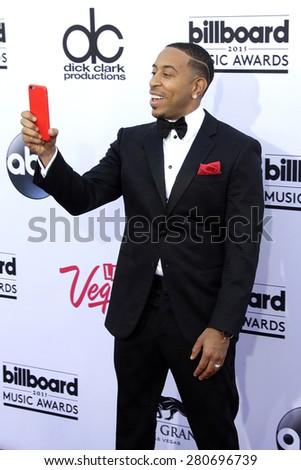 LAS VEGAS - MAY 17: Ludacris, Chris Bridges at the 2015 Billboard Music Awards at the MGM Grand Garden Arena on May 17, 2015 in Las Vegas, Nevada. - stock photo