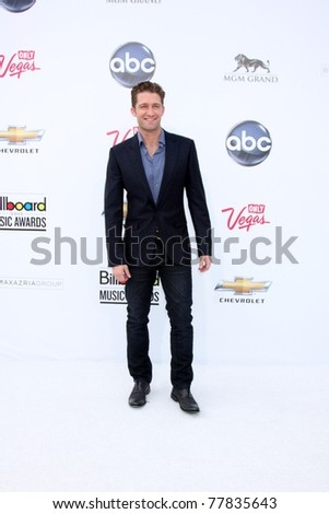 LAS VEGAS - MAY 22:  Matthew Morrison arriving at the 2011 Billboard Music Awards at MGM Grand Garden Arena on May 22, 2010 in Las Vegas, NV.