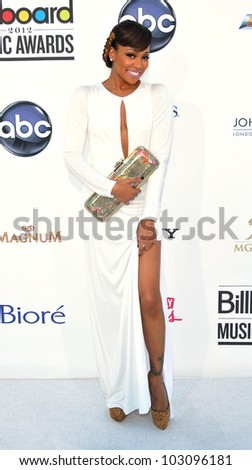 LAS VEGAS - MAY 20:  Monica arrives at the 2012 Billboard Awards at MGM Garden Arena on May 20, 2012 in Las Vegas, NV