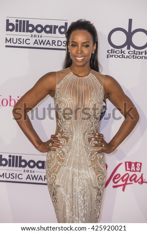 LAS VEGAS - MAY 22 : Recording artist Kelly Rowland poses in the press room at the 2016 Billboard Music Awards at T-Mobile Arena on May 22, 2016 in Las Vegas, Nevada.